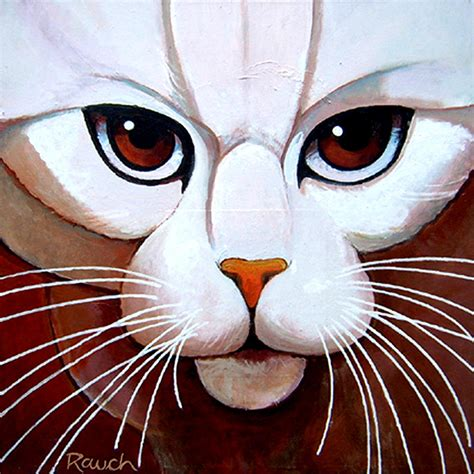 painting cat whiskers your whiskers painting by alan rauch