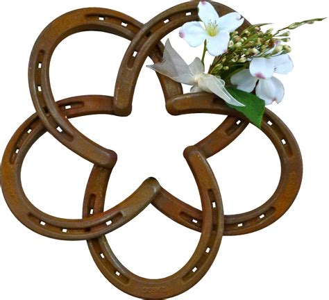 house shoe horseshoe star decorative wall mounted railroadware