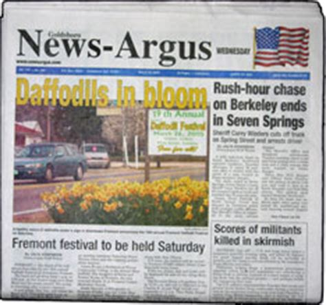 Goldsboro News Argus Records Goldsboro News Argus The Goldsboro News Argus Is In The Raleigh Durham Nc Dma The