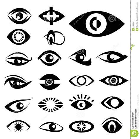 eye designs designs stock vector illustration of bright sight