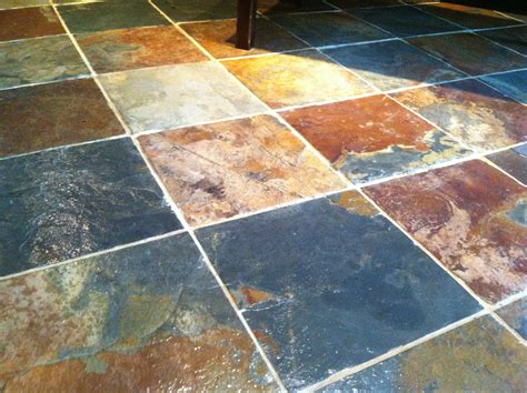 Tile Floring Tips On Sealing Slate Tile Flooring