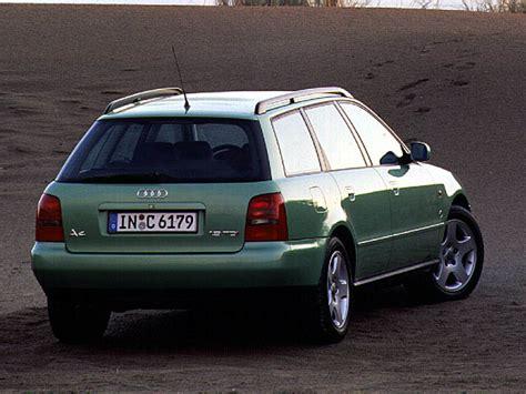 Audi A4 Avant 1997 by Audi A4 Avant 2 4 5v B5 1997 Parts Specs