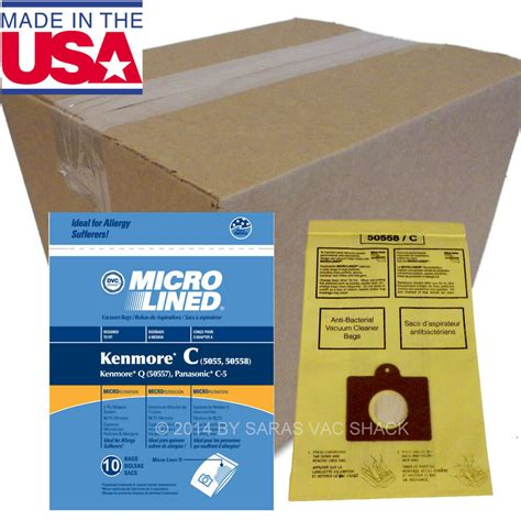 Kenmore Vaccum Bags by 250 Sears Kenmore Vacuum Cleaner Bags 5055 50557 50558 Bag