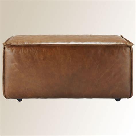 leather rectangle ottoman 649 pico leather rectangle ottoman
