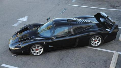 maserati california the only black maserati mc12 up for grabs in california