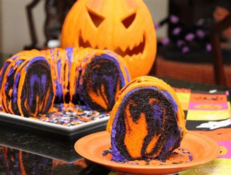 helloween kuchen diy schaurige kuchen und snacks