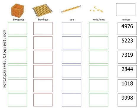 printable montessori addition charts 338 best images about math montessori home school on