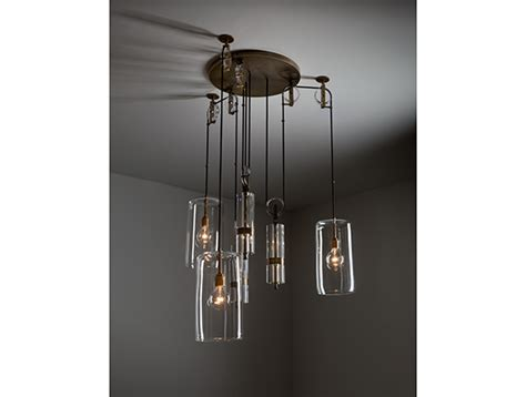 3rings Counterweight Chandelier By Alison Berger For Counterweight Chandelier