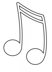 Galerry music note coloring pages print