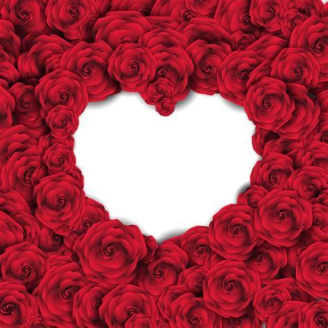 imagenes de rosas jpg fondo con rosas rojas y coraz 243 n vac 237 o descargar vectores
