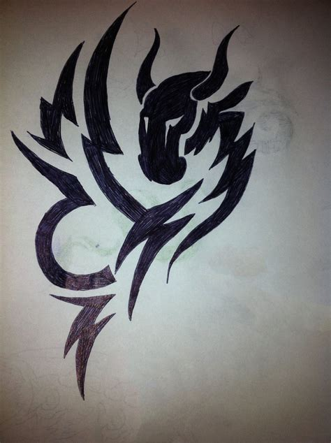 capricorn tribal tattoos tribal capricorn by sainx971 on deviantart