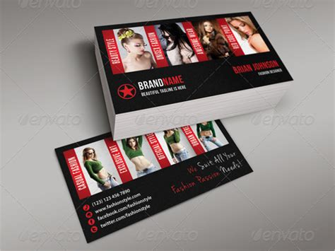 fashion model business card template 72 fashion business card templates free psd vector designs