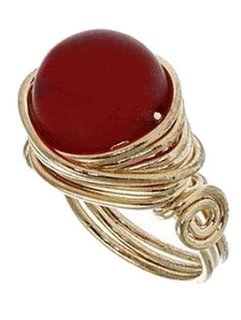 free jewelry lessons free wire jewelry tutorials a lovely beaded wire ring
