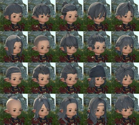 ffxiv male hairstyles pictures lalafell final fantasy xiv a realm reborn wiki ffxiv