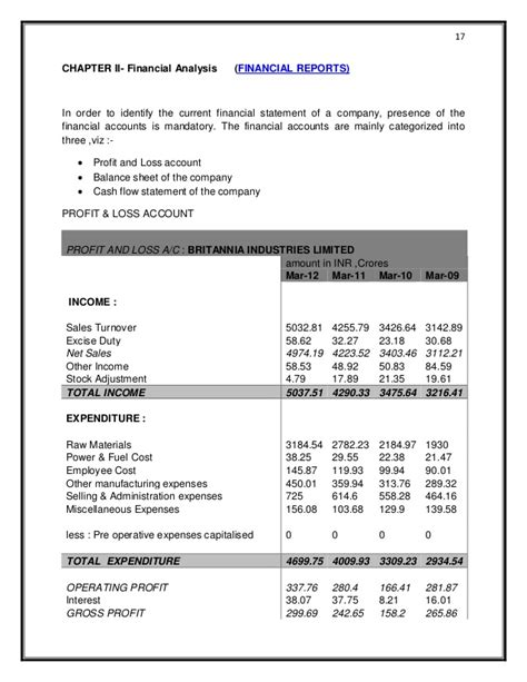 finance report sle financial analysis report sle format 28 images doc