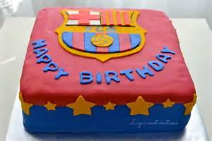 fc barcelona cake ideas designs