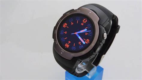 """Awatch Stratosphere"" Android 5.1 Smartwatch phone (3G) round display & camera Zeblaze blitz"