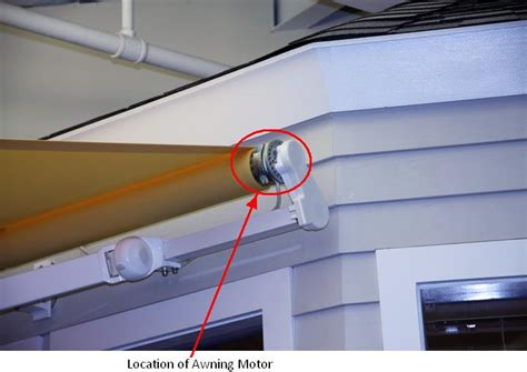 awning motors somfy system motorized awning recall a concord carpenter
