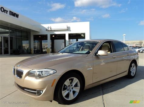 2011 beige metallic bmw 5 series 528i sedan 43991347 gtcarlot car color galleries