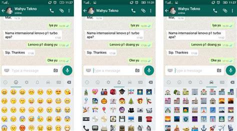 emoji dan artinya asyik whatsapp kebanjiran emoji baru tekno liputan6 com