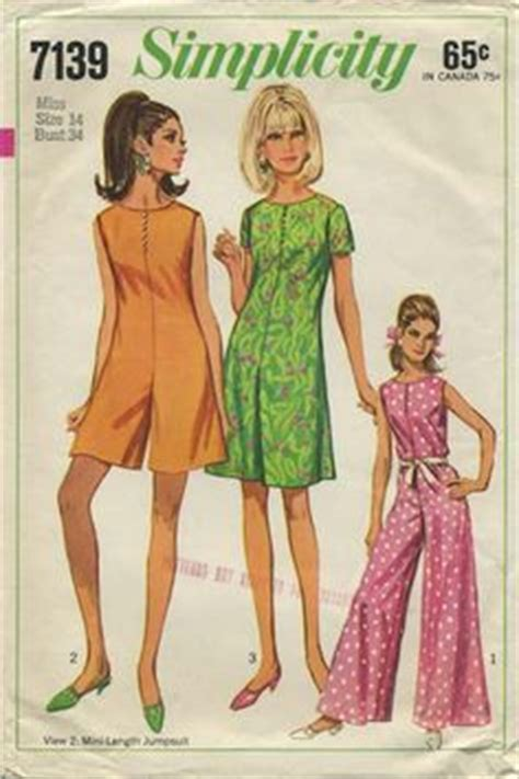Jumpsuit Corby the sixties on 1960s 1960s fashion and