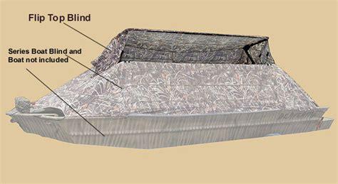 beavertail boat blind 2200 beavertail flip blind blind fliptop addition accessory