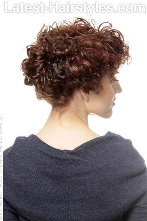 bridesmaid hairstyles curly show front and back view our 24 favorite wedding hairstyles for short hair