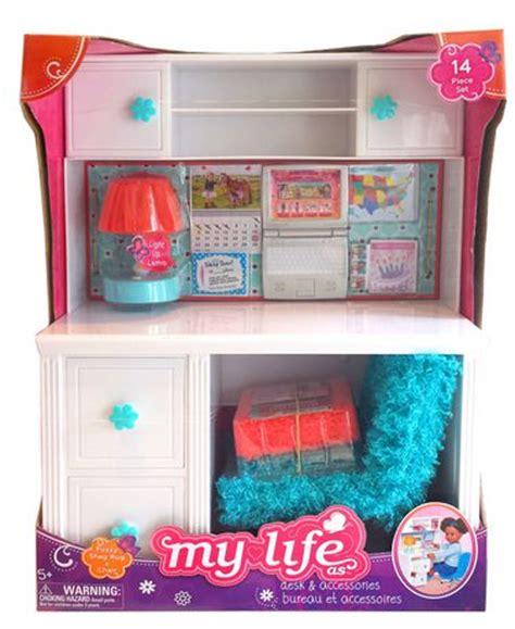 walmart desk accessories my as 18 quot blue desk accessories walmart ca