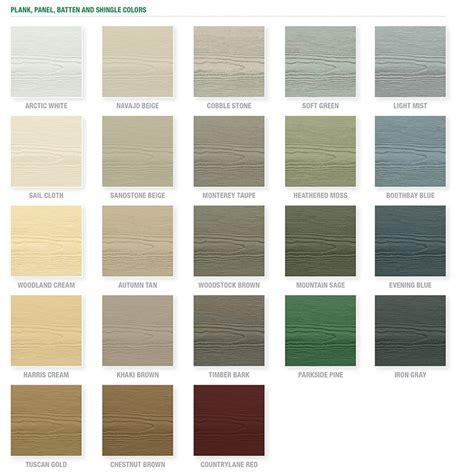 hardiplank siding colors shop hardie prime cedarmill fiber cement siding