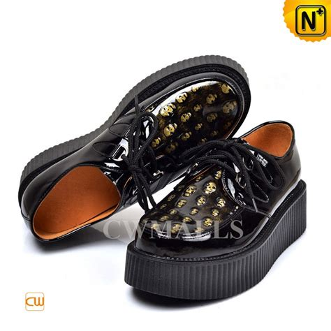 creeper shoes for black leather creeper shoes for cw721613