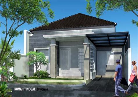 rumah minimalis atap limas bentuk rumah minimalis