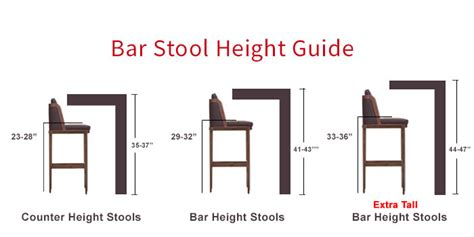 how to measure for bar stools stool height prince furniture