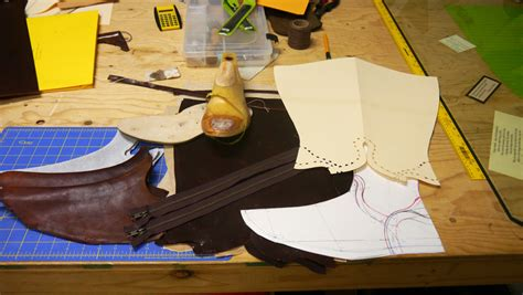 boat making alden s school of leather trades leather working