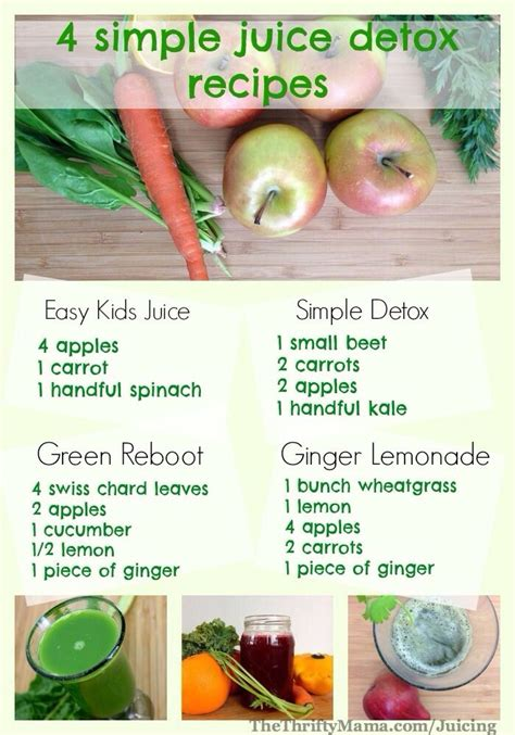 Safe Self Detox by A Fantastic Guide To 4 Detox Juices Including A