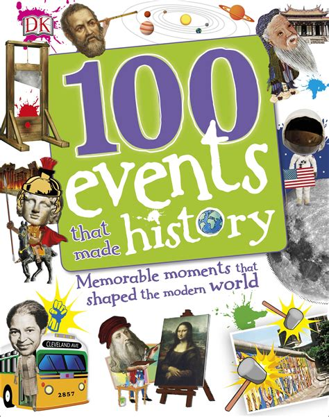 100 events that made 0241227895 100 events that made history by dk penguin books new zealand