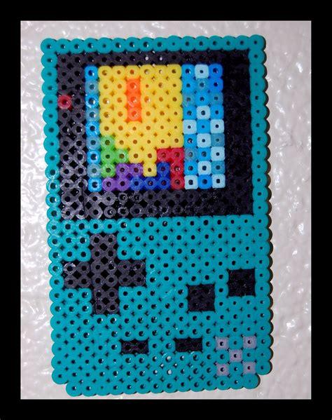Gameboy Pattern gameboy color perler by maypoman on deviantart
