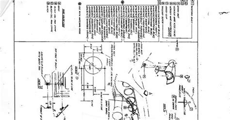 phscollectorcarworld 1967 pontiac gto tach diagram and positioning template