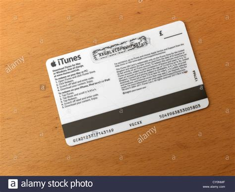 Who Buys Itunes Gift Cards - itunes gift card to download music on audio device stock photo royalty free image