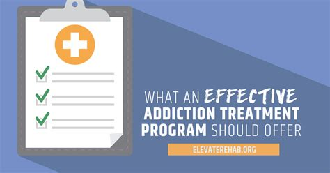 Addiction Detox Program by What An Effective Addiction Treatment Program Should Offer