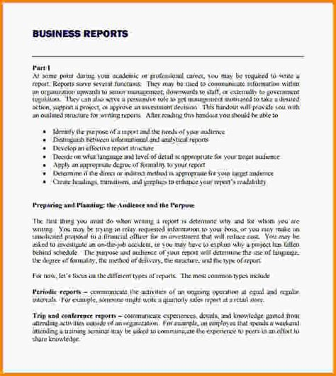 Business Letter Report Exles Business Report Template Analysis Report Template Png Letter Template Word