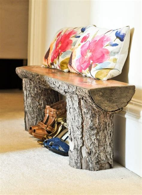 tree stump bench tree stump bench home ranch pinterest