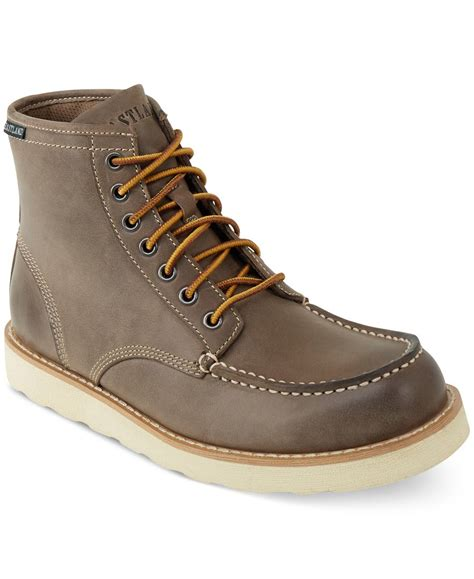 s eastland boots eastland eastland lumber up boots in brown for lyst
