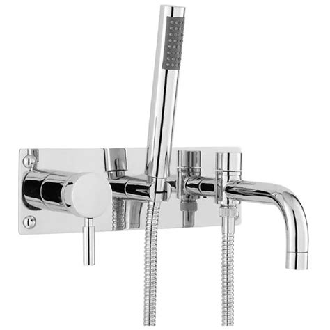 bathroom wall mixer hudson reed tec single lever bath shower mixer pk350