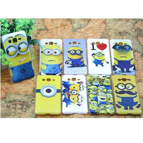 Casing Hp Samsung Grand 2 Despicable Me Minion Custom Hardca soft cover for samsung galaxy grand prime g530 minions despicable me colored paiting