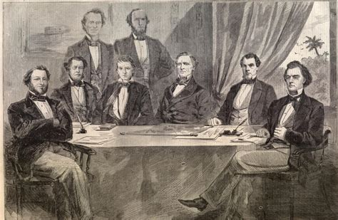 Jefferson Davis Cabinet by Images
