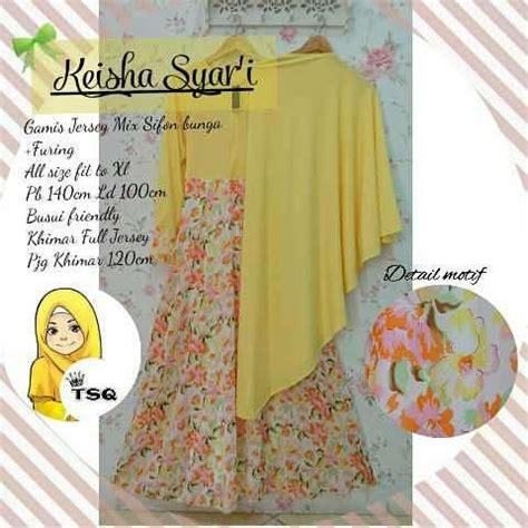 Gamis Keisha baju gamis cantik keisha a140 busana muslim syari
