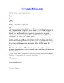 template termination of employment termination of employment letter recruit staff