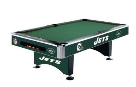 new orleans saints pool table new york jets nfl pool table