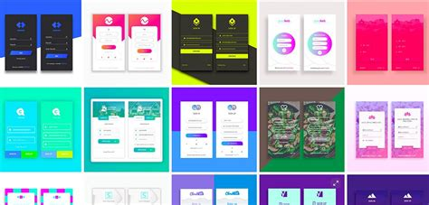 15 App Login Templates Xd Xdguru Com Adobe Xd Templates Ios
