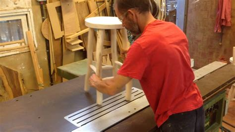 table saw leveling rusticdavid leveling stool or chair legs on the table saw
